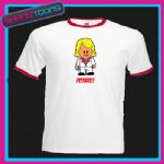 KEITH LEMON POTATO RINGER RETRO FUNNY TSHIRT